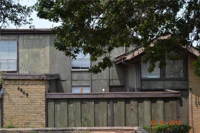 Dallas Condo For Sale: 4649 Country Creek Drive #1108