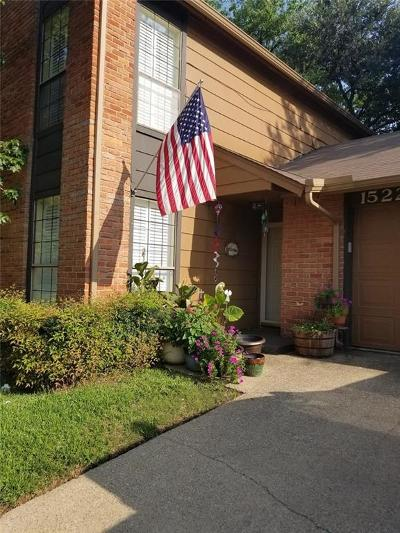 Irving Townhouse Active Option Contract: 1522 Brentwood Drive