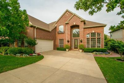 Keller Single Family Home Active Option Contract: 703 Hidden Woods Drive