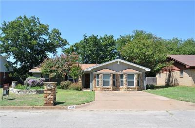 Weatherford Single Family Home For Sale: 1206 S Rusk Street
