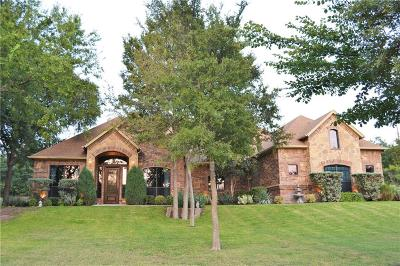 Azle Single Family Home For Sale: 104 Hidden Forest Drive