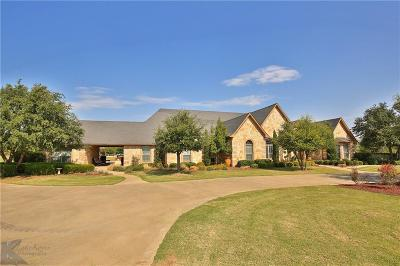 Abilene Single Family Home For Sale: 358 Southwind Circle