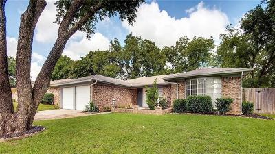 Bedford Single Family Home Active Option Contract: 1617 Brookhaven Circle