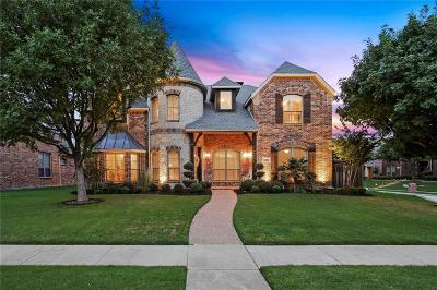 Allen Single Family Home For Sale: 2000 Cartier Crossing