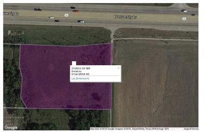 Little Elm Commercial Lots & Land For Sale: 27100 E Us 380
