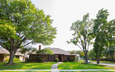 Coppell Single Family Home Active Option Contract: 719 Swallow Drive