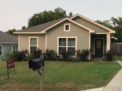 Waxahachie Single Family Home Active Option Contract: 402 W Avenue C