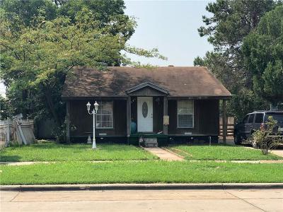 Dallas County Single Family Home For Sale: 4818 W University Boulevard