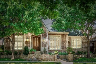 Frisco Single Family Home Active Option Contract: 5620 Fairfax Drive