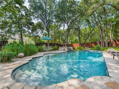 Colleyville Single Family Home Active Option Contract: 6308 Kenshire Court
