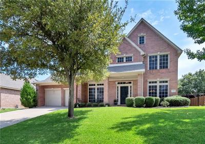 Grapevine Single Family Home Active Option Contract: 2714 Summer Wind Drive