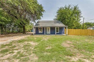 Springtown Single Family Home Active Option Contract: 1608 Newsom Mound Road