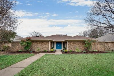 Single Family Home Active Option Contract: 9722 Burleson Drive