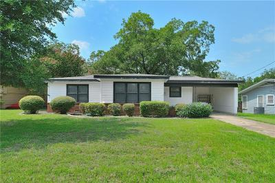 Weatherford Single Family Home For Sale: 301 N Bowie Drive
