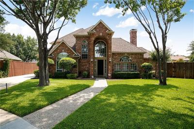 Plano Single Family Home Active Contingent: 7504 Shadowlawn Court