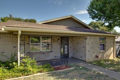 White Settlement Single Family Home Active Option Contract: 7716 Carlos Street