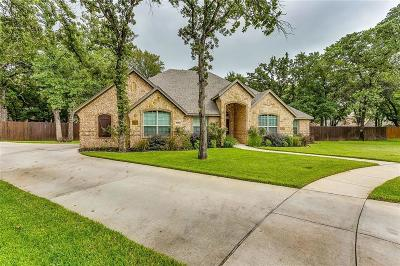 Azle Single Family Home Active Option Contract: 1413 Spars Court