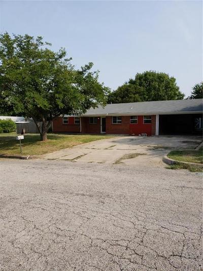 White Settlement Single Family Home For Sale: 8717 Easley Street