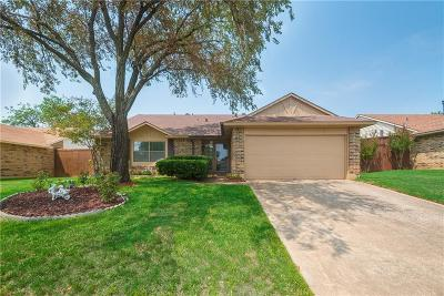 Bedford Single Family Home Active Option Contract: 2503 Chinaberry Drive