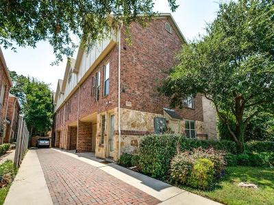 University Park Townhouse For Sale: 3425 Rosedale Avenue #3