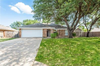 Desoto Single Family Home Active Contingent: 1321 Sparrow Court