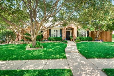 Frisco Single Family Home Active Option Contract: 9716 Thorncliff Drive
