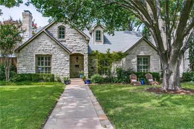 University Park Single Family Home For Sale: 4436 Purdue Avenue