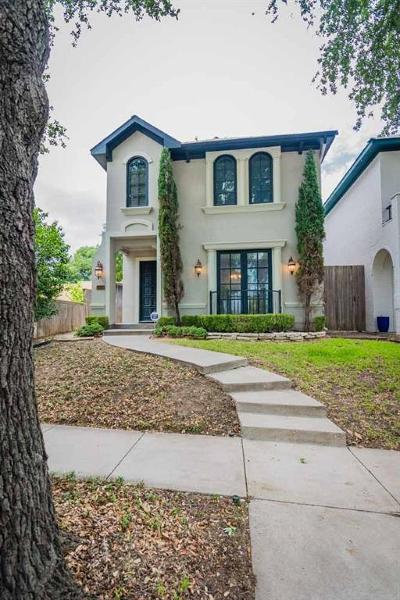 Fort Worth Single Family Home For Sale: 5016 Byers Avenue