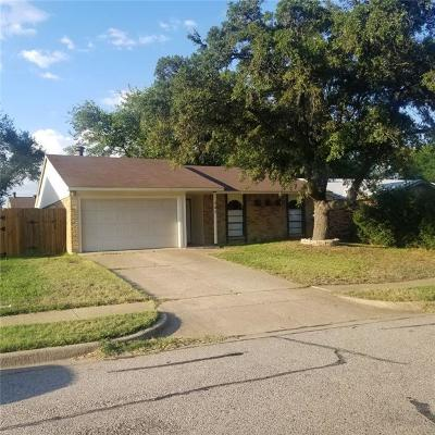 Allen Single Family Home For Sale: 547 Cumberland Drive