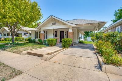 Fort Worth Multi Family Home For Sale: 2541 Wabash Avenue