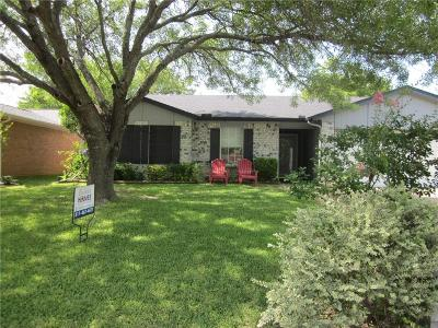 Mansfield Single Family Home Active Option Contract: 607 Dayton Road