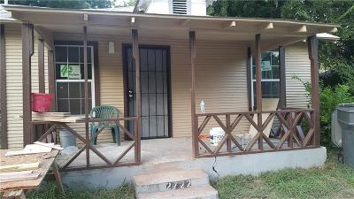 Dallas Single Family Home For Sale: 2722 Hector Street