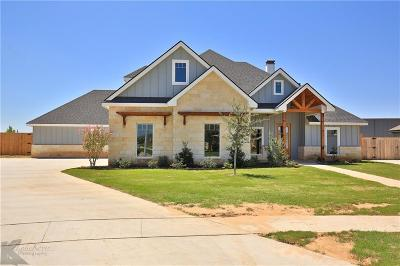 Abilene Single Family Home For Sale: 4626 Lonesome Dove Trail