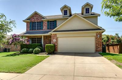 Keller Single Family Home Active Contingent: 4158 Prairie Meadow Ct
