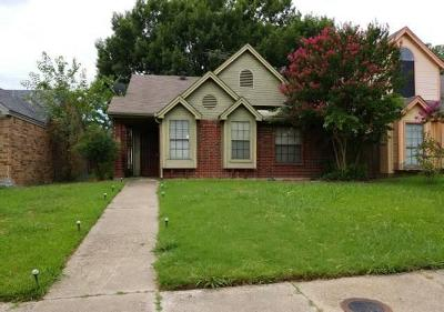 Dallas Single Family Home For Sale: 10459 Woodleaf Drive