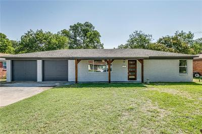 North Richland Hills Single Family Home For Sale: 3516 Reeves Street