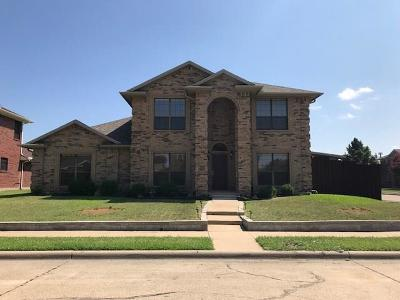 Rowlett Single Family Home Active Option Contract: 6802 Silver Lake Drive