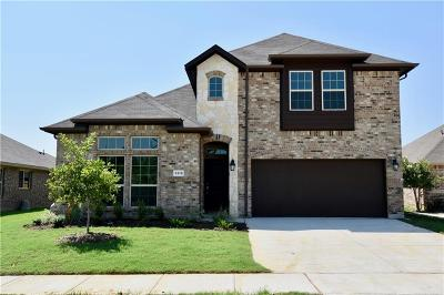 Denton Single Family Home For Sale: 1312 Raleigh Path Road
