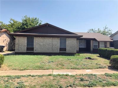 Dallas Single Family Home For Sale: 3418 Tioga Street