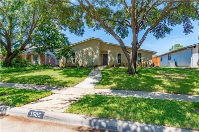 Lewisville Single Family Home Active Kick Out: 1505 Carnation Drive