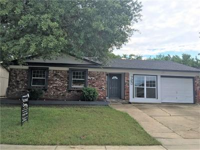 Lewisville Single Family Home Active Option Contract: 720 Sweetbriar Drive