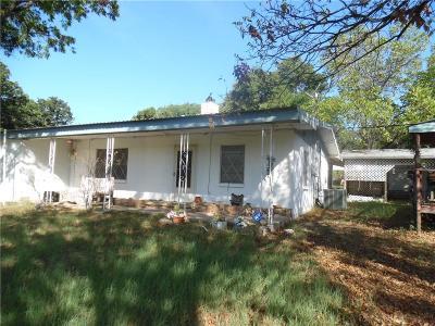 Comanche TX Single Family Home For Sale: $125,000