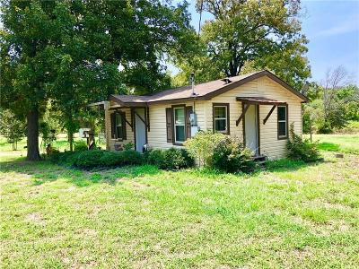 Canton TX Single Family Home For Sale: $77,500