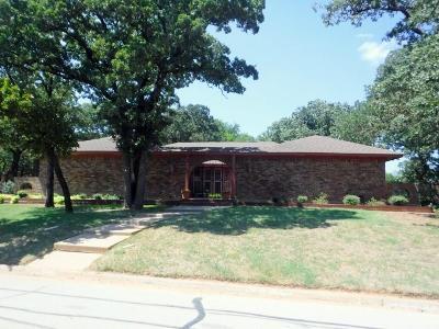 Joshua Single Family Home For Sale: 301 Cobb Drive