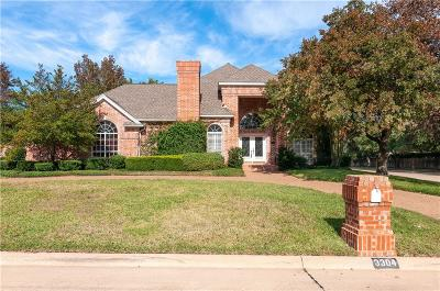 Colleyville Single Family Home Active Option Contract: 3304 Queensbury Way W