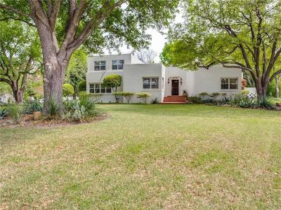Fort Worth Single Family Home For Sale: 3121 Westcliff Road W
