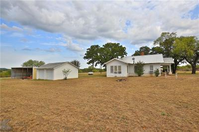 Cross Plains Farm & Ranch For Sale: 17335 Fm 880 S