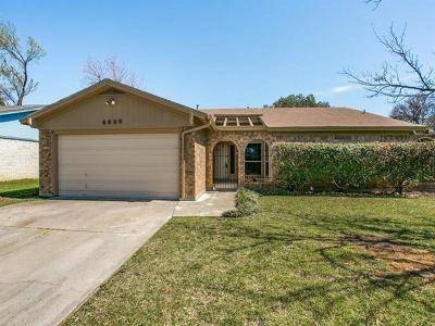 Watauga Single Family Home For Sale: 6800 Mickey Drive