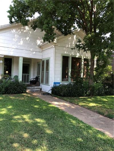 Dallas Single Family Home For Sale: 4525 Sycamore Street