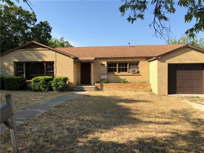 Hamilton TX Single Family Home For Sale: $89,999